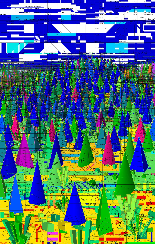 Data mountains