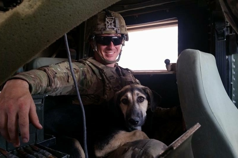 Sgt. James Duck and Layla