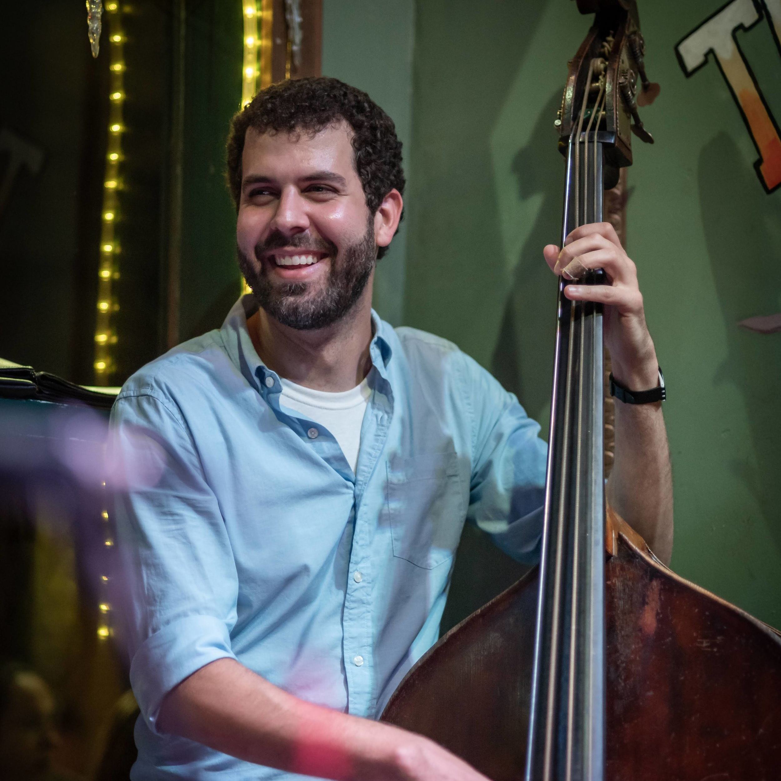 "Moving And Grooving: Joshua Gouzy Is Fostering Friendships In A Dozen Of Bands - ""A member of 11 New Orleans bands, Joshua Gouzy gigs at least seven days a week. The bassist also founded one of those bands, the New Orleans Catahoulas."""