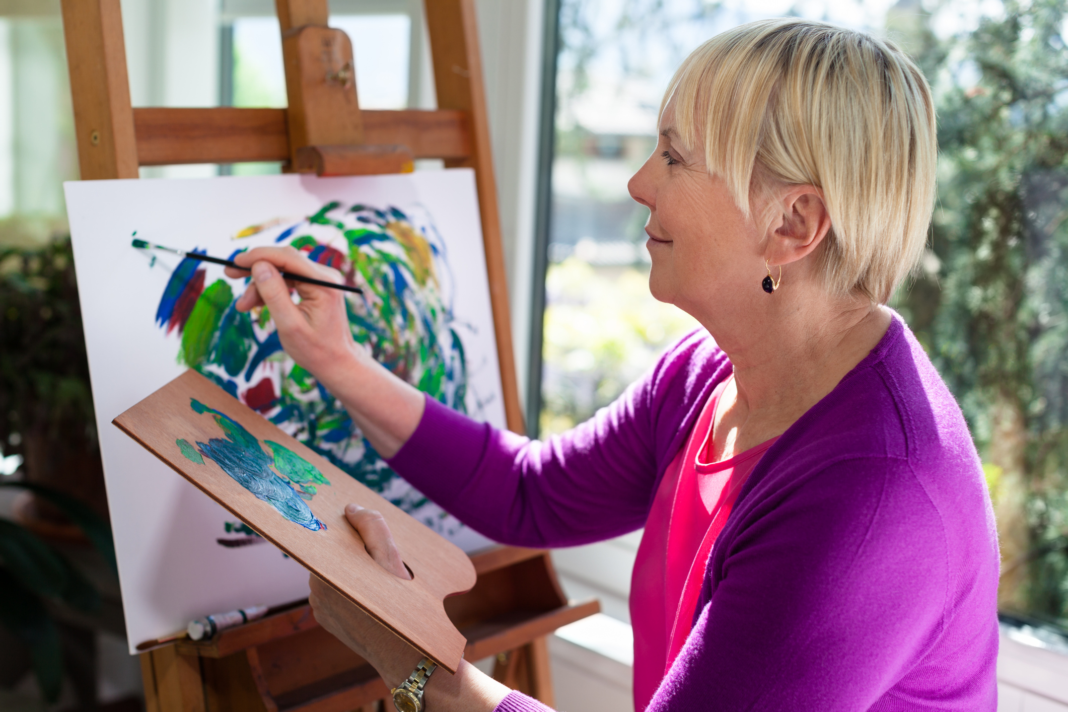Therapeutic In-Home / On-Premise Art Sessions