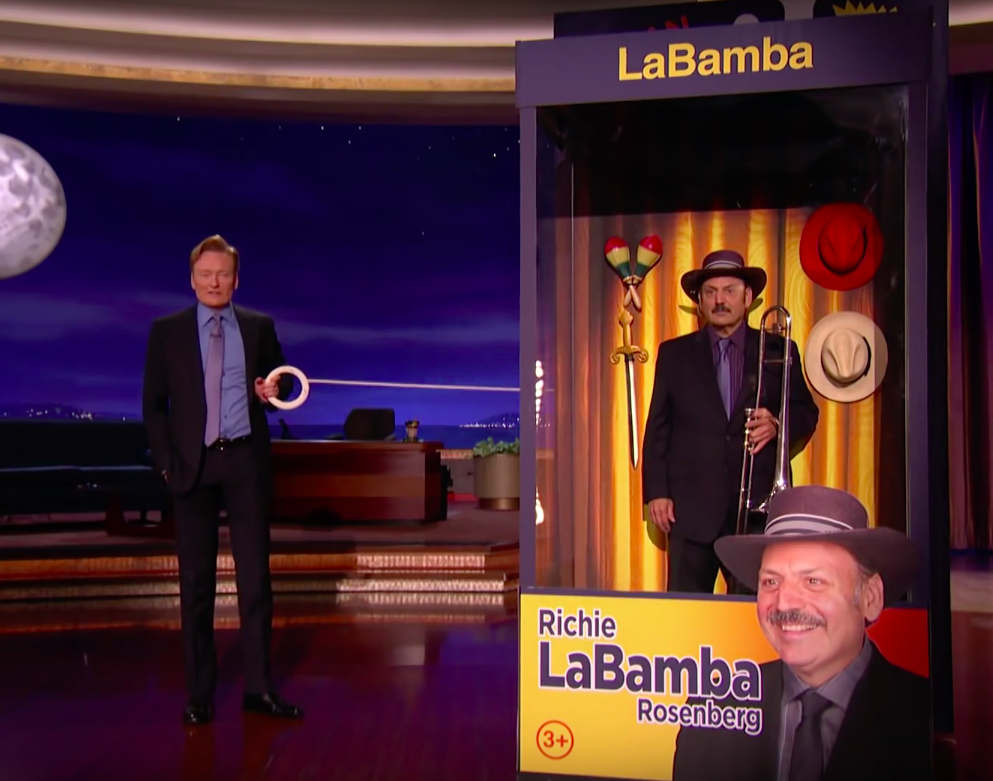 -    Brand New LaBamba Still In The Box!From Conan on TBS