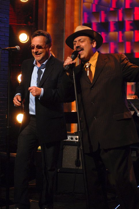 LaBamba and Southside Johnny.  - Performing from their album release; Grapefruit Moon, The Song's of Tom Waits.