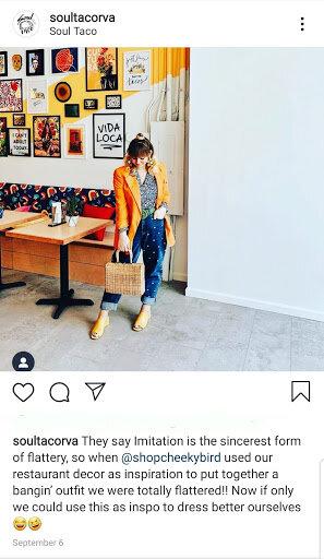 Soul Taco Instagram Post