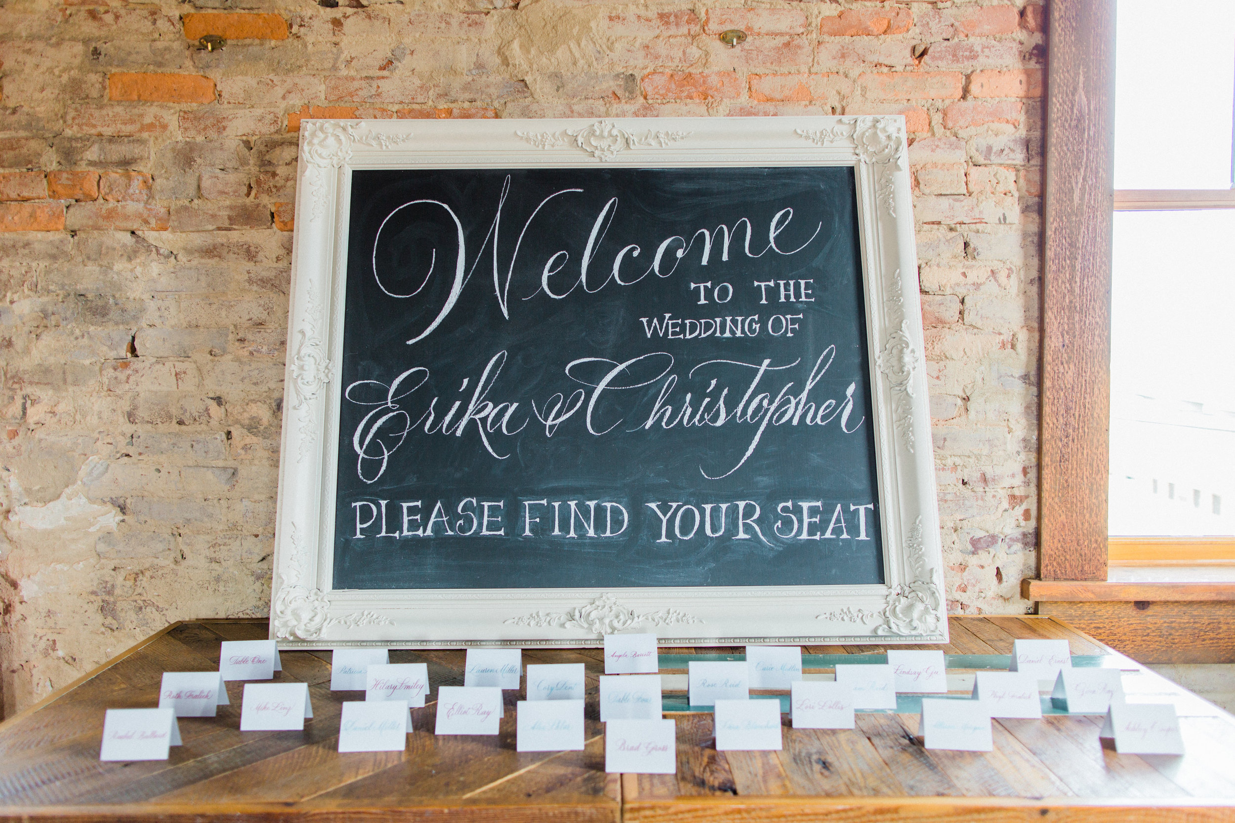White Chalkboard (Assorted Sizes Available)