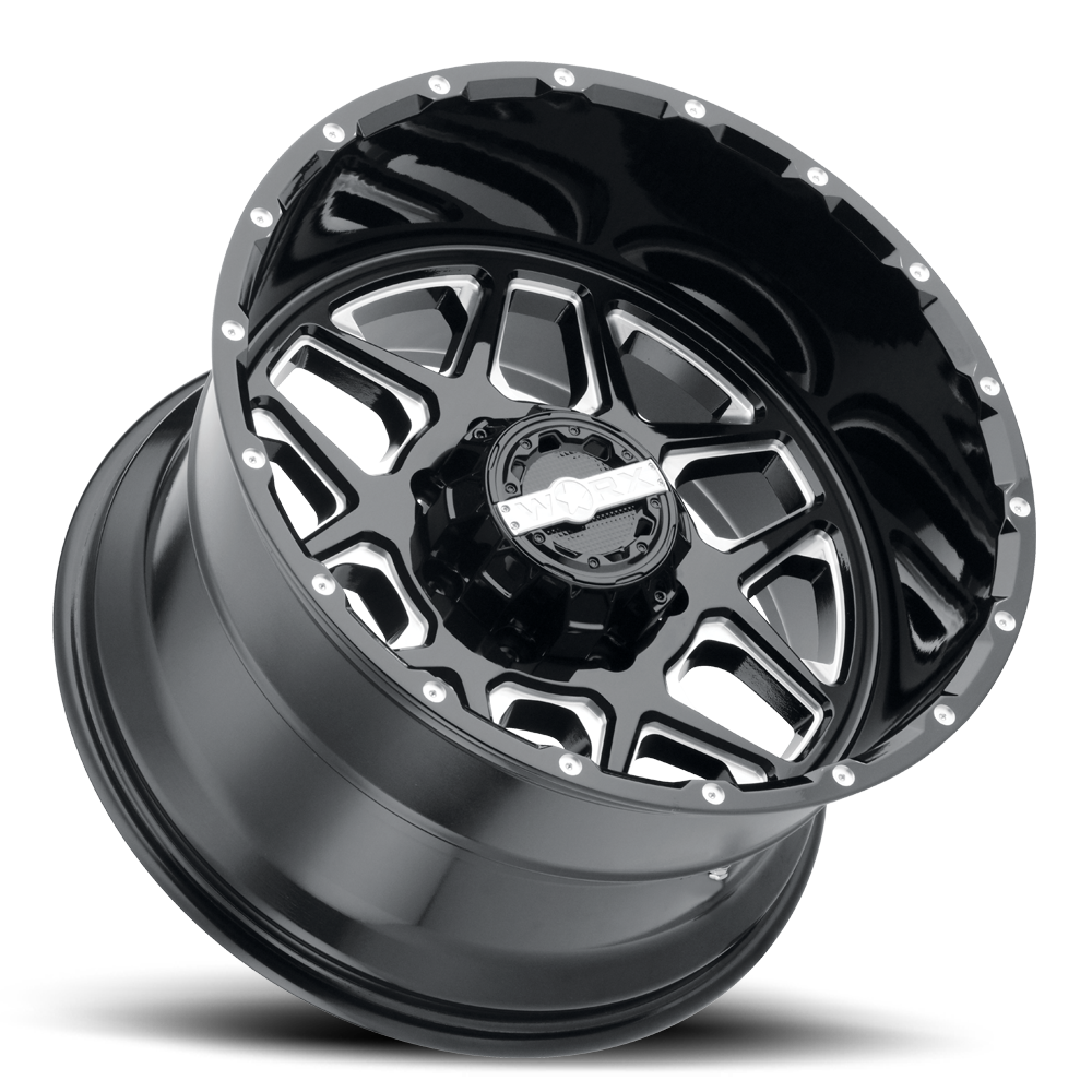 worx-815-wheel-8lug-gloss-black-milled-spokes-20x12-lay-1000.png