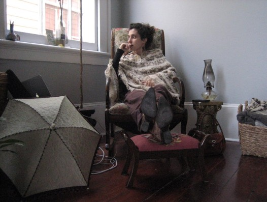 Meryl Murman at home (Photo provided by: Meryl Murman)