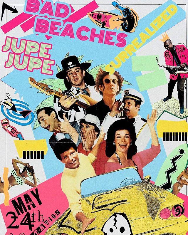 🗣One week until our next show with @jupejupemusic & @surrealizedmusic at @substation206! Got your tickets yet?  SUBSTATION FRI 5/24  DOORS @ 8PM  #seattlemusic #livemusic #seattlelife #ballardseattle