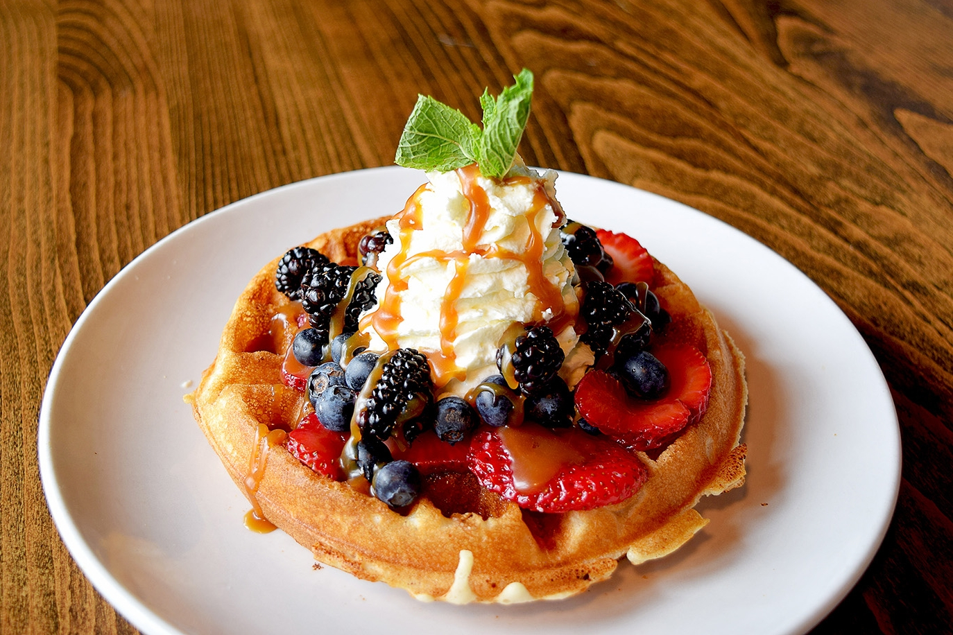 WEEKEND BRUNCH! - Every Saturday and Sunday from 10am - 2pm we will be featuring our weekend brunch menu. Try our Fresh Berry Waffle or Spanish Chilaquiles and chase it down with a $5 Mimosa or Bloody Mary! Let us help make your weekend a bit more exciting.