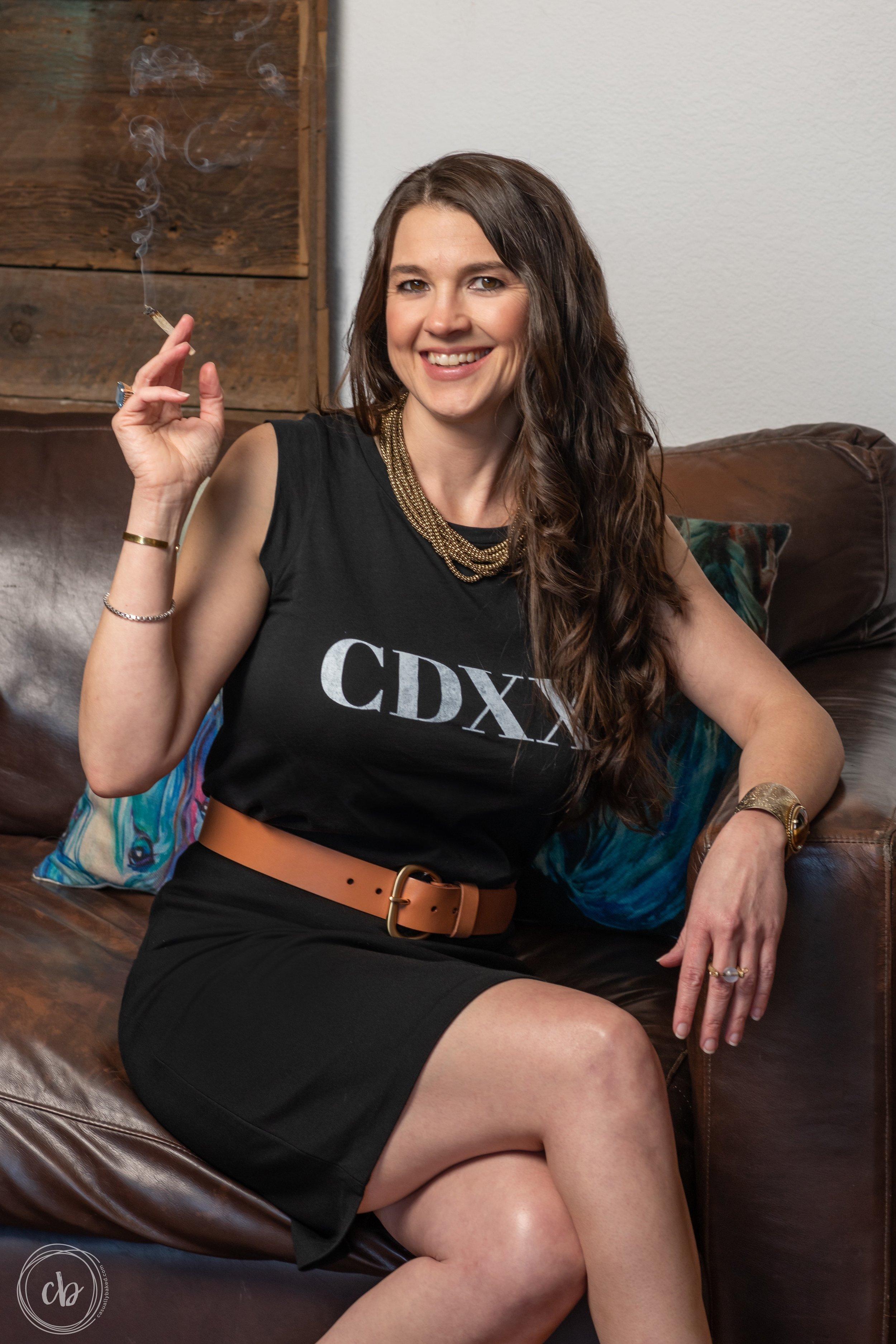 Casually Baked Media founder, Johanna Nuding