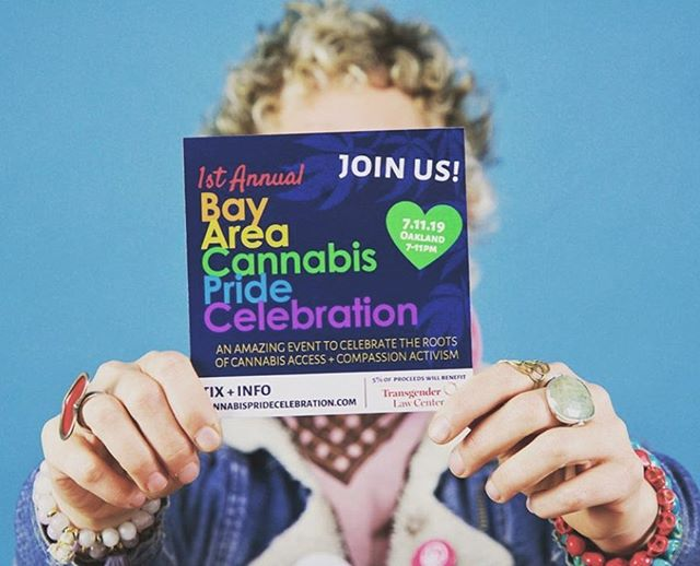 "Learn about the roots of the cannabis movement in the heart of it all, the Bay Area. Meet us in Oakland this Thursday from 7-11pm to hear from activists who have been pushing us to get where we are today. This work could not be done without the contributions of the LQBTQI community who have paved the way. ⁣ ⁣ The festivities include: ⁣ 🌈 A dazzling array of Bay Area craft cannabis and socially minded brands and organizations⁣ 🌈 A screening of @BrianApplegarth 's award-winning film, ""The Secret Story: How Medical Cannabis Was Re-Legalized in the US"" ⁣ 🌈 Storytelling from essential LGBTQ Compassion Activists in the original medical cannabis movement ⁣ 🌈 A dance party! ✨⁣ ⁣ 5% of the proceeds will be donated to the @translawcenter ⁣ ⁣ Get tickets at cannabispridecelebration.com! ⁣ ⁣ 🌼⁣ ⁣ 🌼⁣ #420eats #cannabisdinner #420chef #weededibles #eatyourweed #womeninweed #cannabischef #cookingwithcannabis #cannabisinfused ⁣ #summerbummer #bayareanative #battleofthebay #oaklandbaybridge #oaklandnightlife #sftravel #oaklandnights #bayareaevents #fogust #bayareafoodie #downtownoakland"