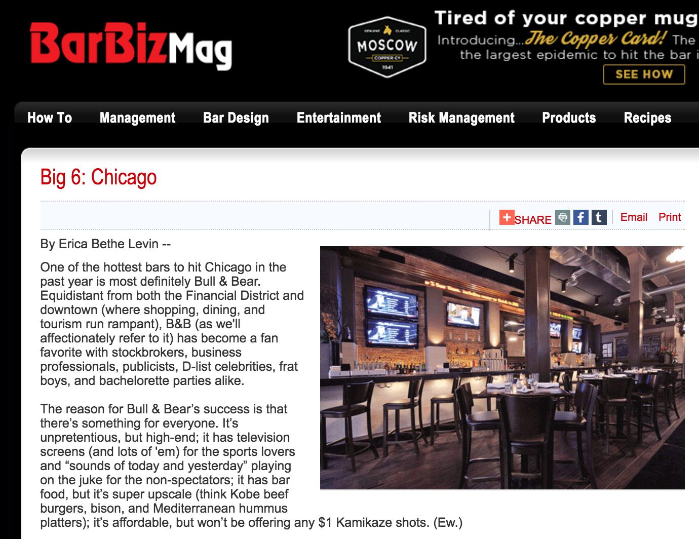 Erica Bethe Bar Biz Magazine