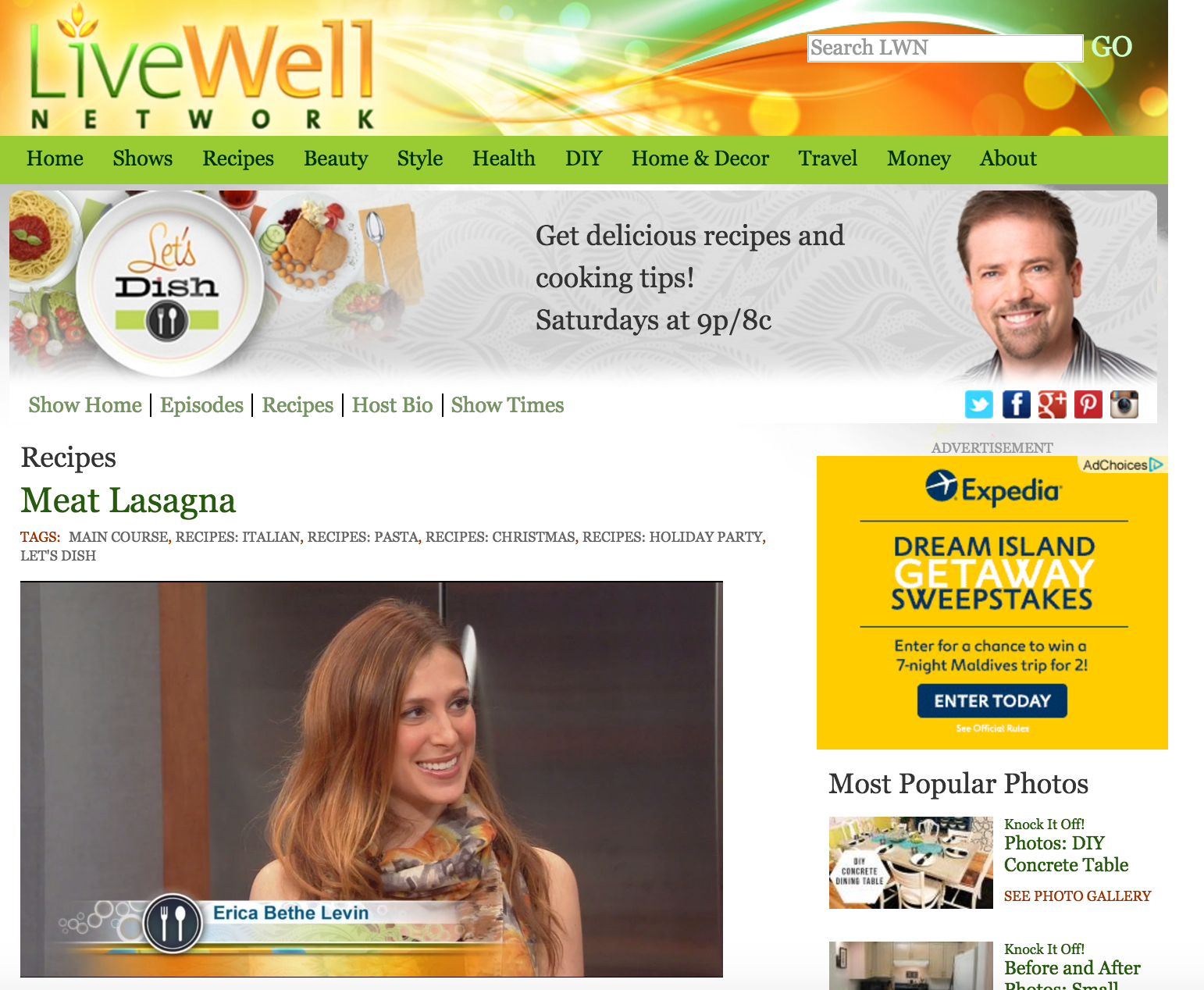 Erica Bethe ABC's Live Well Network