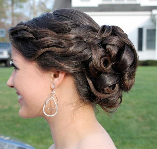 Wedding Updo Razzmatazz Hair Studio Cape Cod