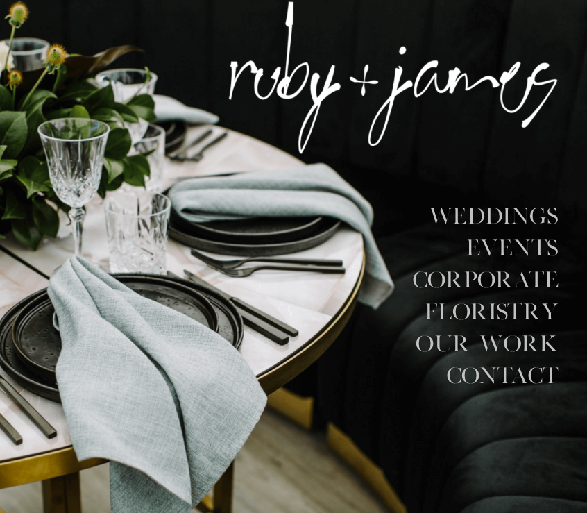 Ruby and James  Planning, Styling and Floristry http://www.rubyandjames.com.au