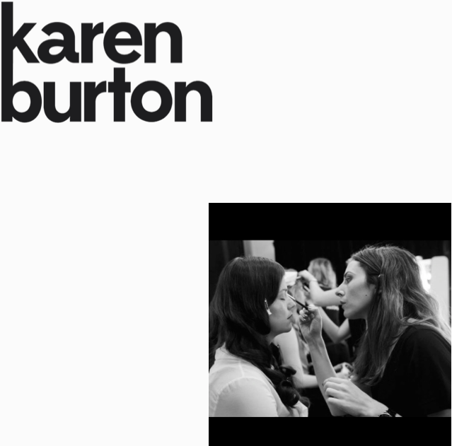 Karen Burton  Hair and Make Up http://www.karenburton.com.au