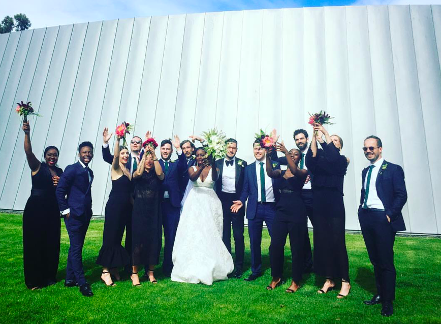 """Ryan + Fatuma     """"Jamima was an outstanding celebrant that absolutely made our day, bringing all the elements of our wedding together into one heartwarming, fun and joyous service. I wholeheartedly encourage you to do whatever you can to have Jamima involved in your special day, she is a gem!"""""""