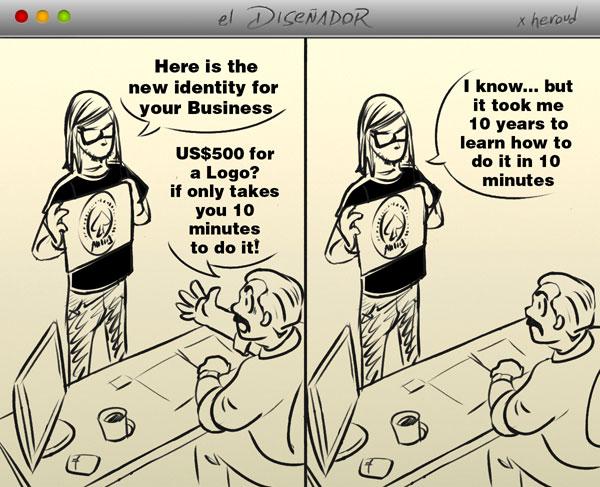 Cartoon by heroud