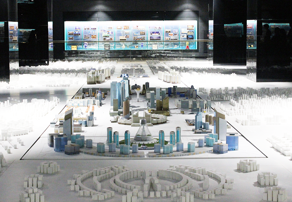 Kazahstan Astana City Urban Plan Model