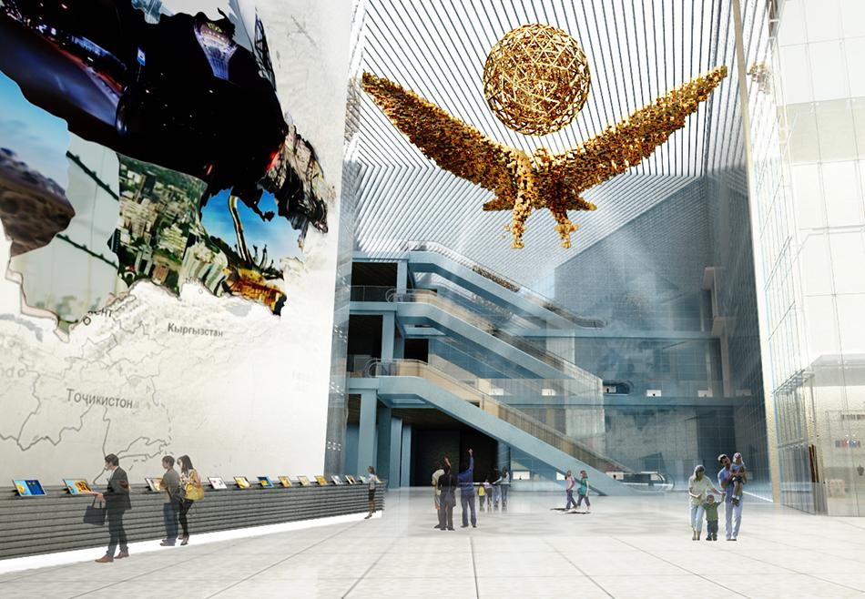 National Museum of Kazahstan-Design
