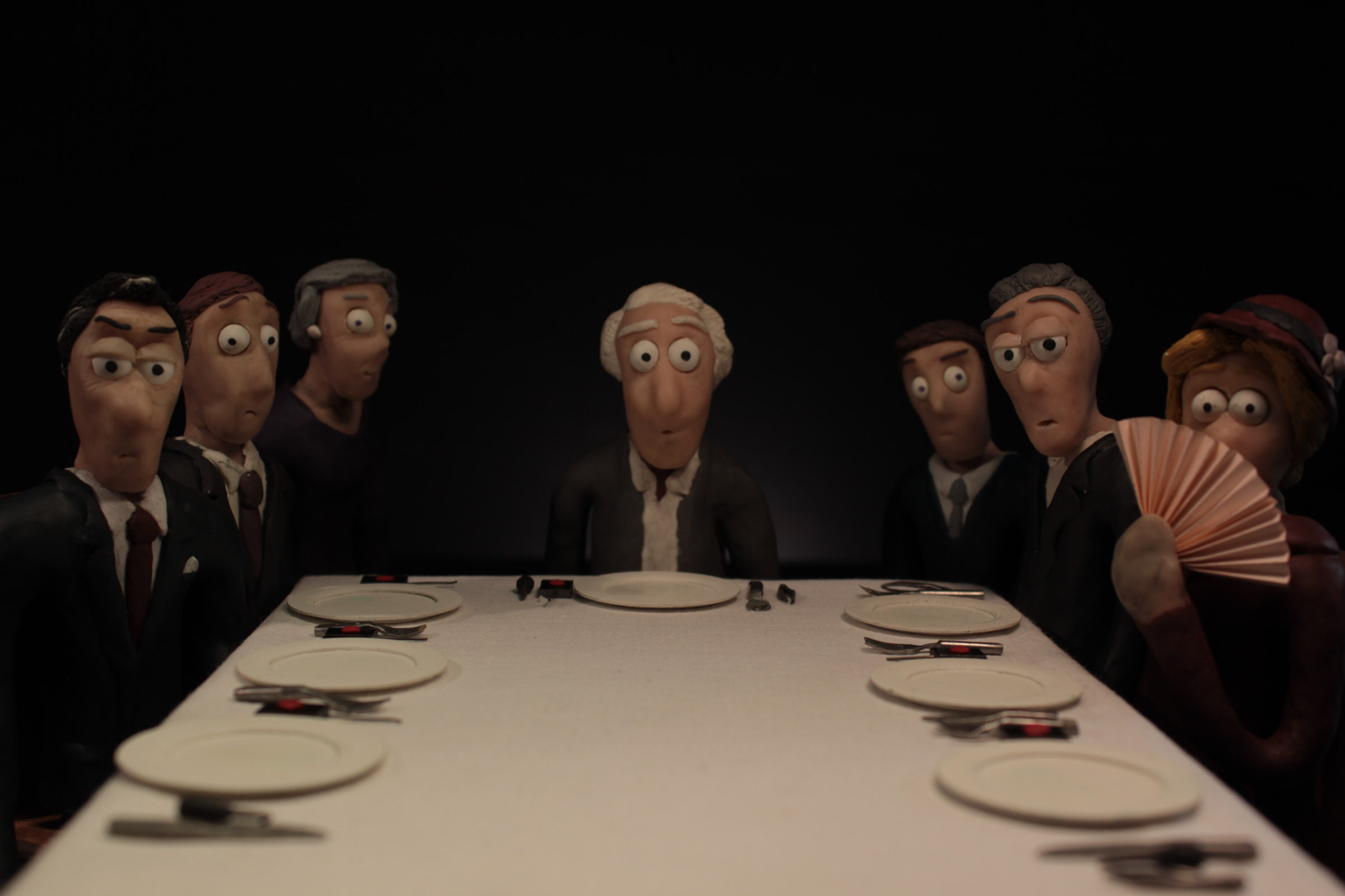 The kind of person you won't find in StopTrik   Banquet, Julia Orlik (Film School Łodź), 2016, POL