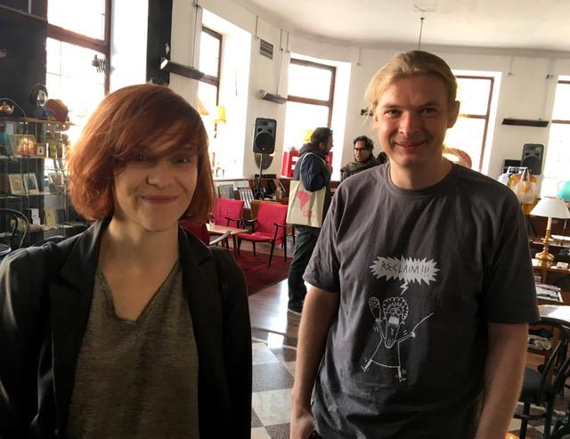Olga Bobrowska and Michał Bobrowski. Photo: Daniel Šuljić