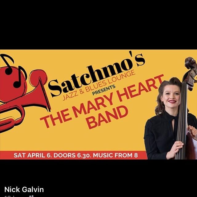 In Bundeena tonight with Linda Carl Dewhurst 🎸 Hamish Stuart 🥁 James Greening 🎶 (why no trombone emoji). It's going to be very fun.