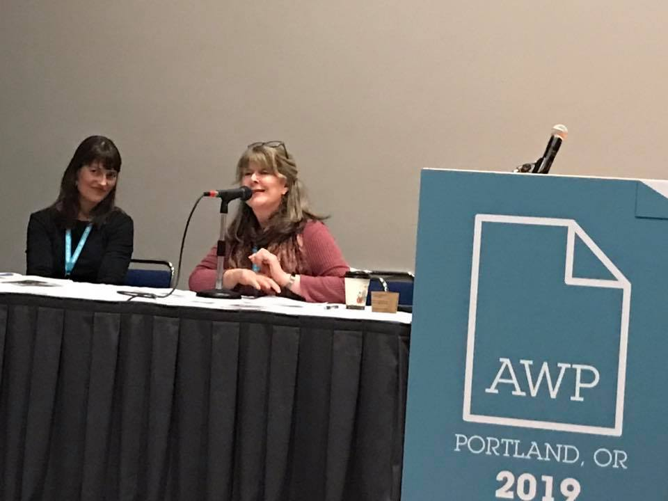 Emily Saer Cook and Maggie Marshall on the Women Leaders and Entrepreneurs in the Writing Community panel
