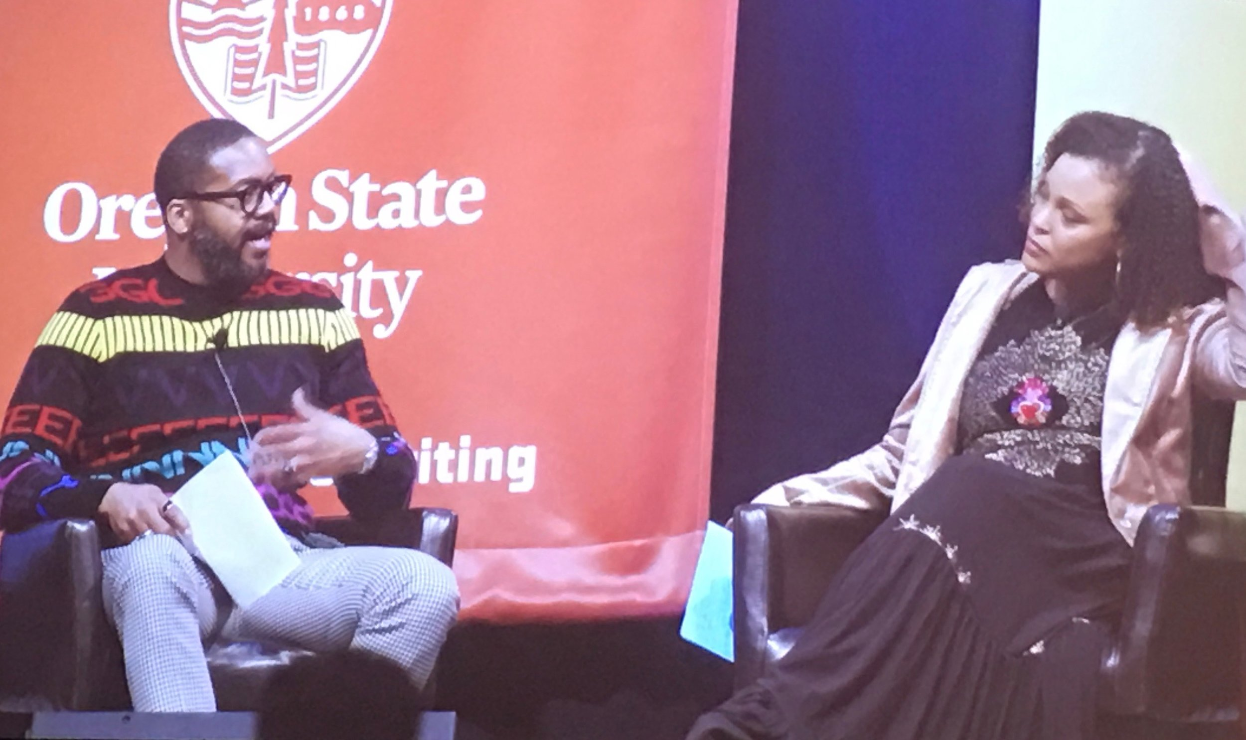 Mitchell S. Jackson and Jesmyn Ward in conversation