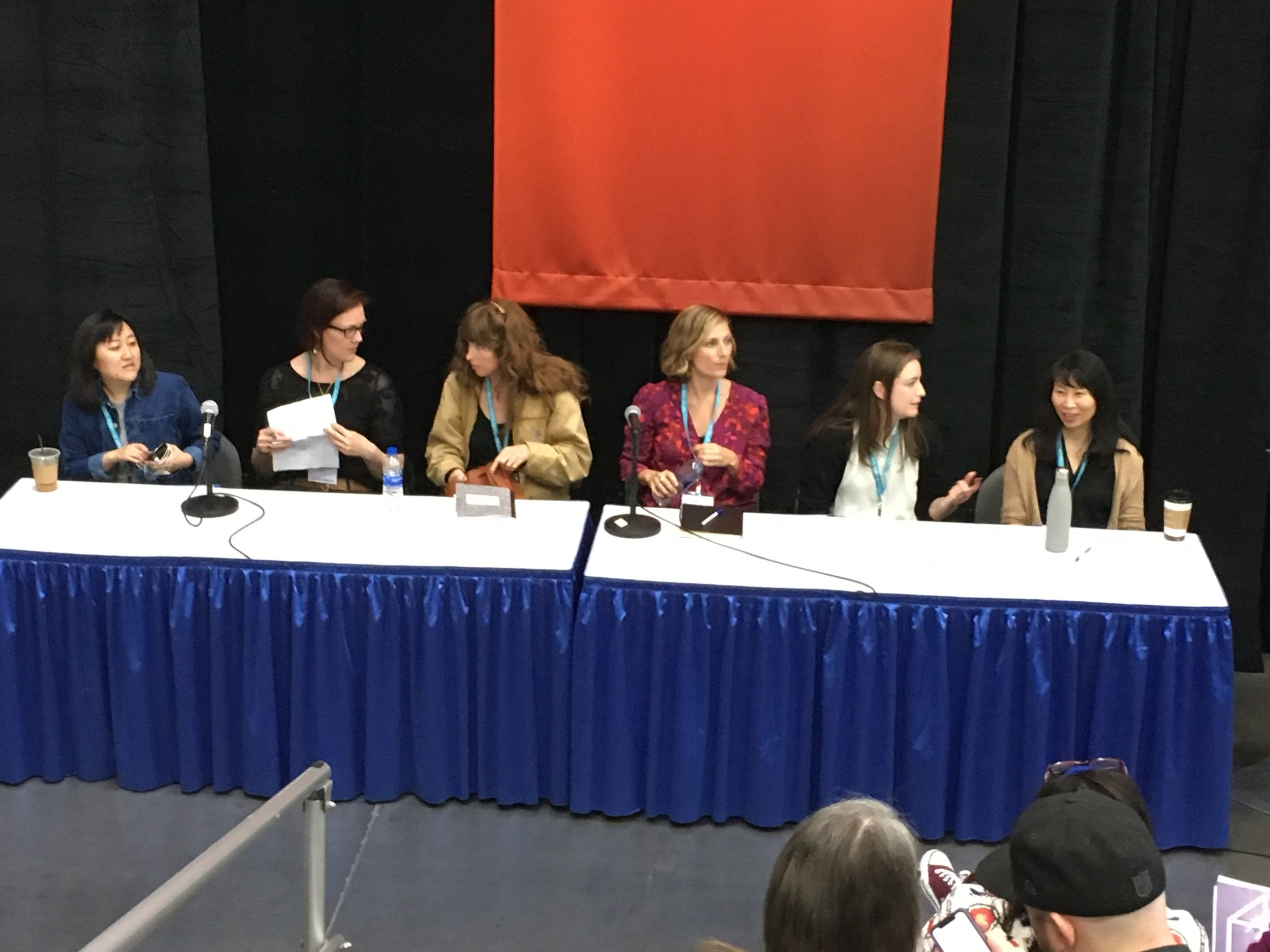 Tessa speaks on the value and challenges of writing strong female characters