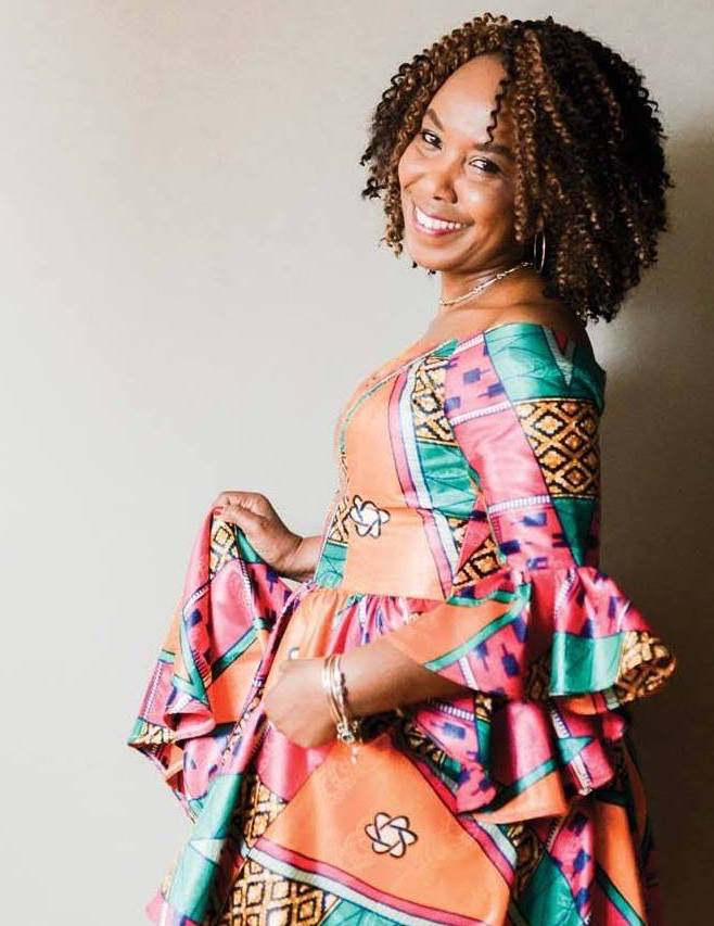 Adele Masengo Ngoy - Bio: The designer behind 'Masengo Designs' is Adele Masengo Ngoy. Based in Portland, Maine, Adele has over 30 years of experience in the fashion industry–dating back to her accomplishments as a university fashion design student in her country of origin, the Democratic Republic of Congo. While living in the Congo, Adele designed clothing for the elite. Adele is a talented tailor and designer who can create anything you dream up, including original custom wedding gowns, special occasion attire, and everyday business wear. She is especially known for her ability to perform intricate alterations, her authentic designs and her ability to create them from scratch, which she has done for women of all shapes and sizes, worldwide. Adele is also the president & founder of Women United Around the World and owner of Antoine's Tailor Shop and Formal Wear.Website: antoinesformalwear.com mainewomenmagazine.com/adele-masengo-ngoy/