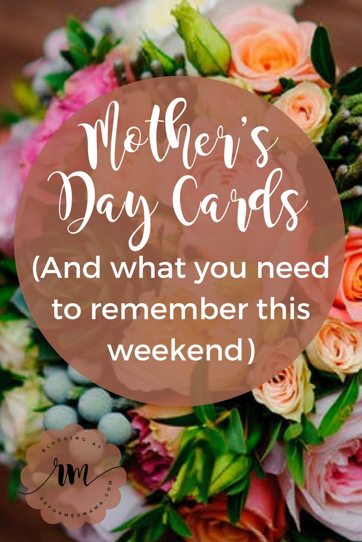 Mother's Day and the Gospel