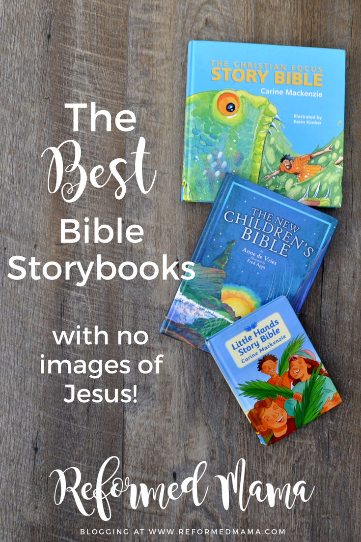 The Best Children's Bibles Without Pictures of Jesus - List and Links