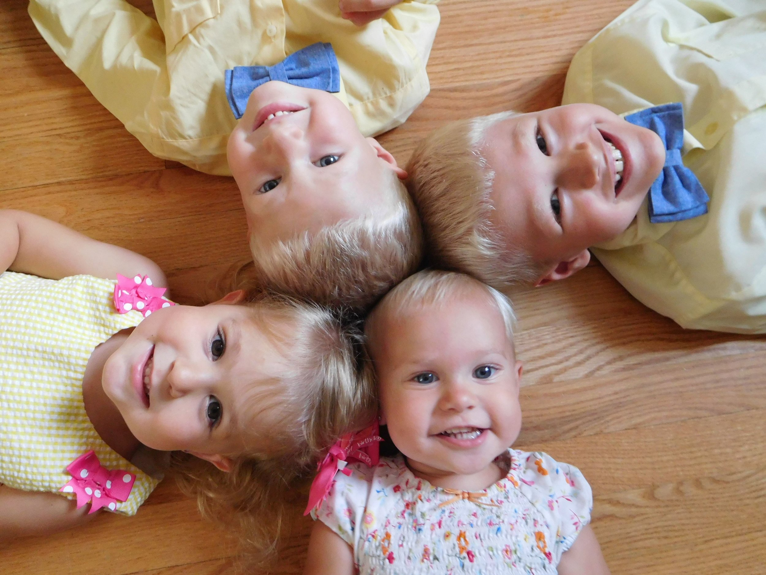 Rachelle's four beautiful kids!