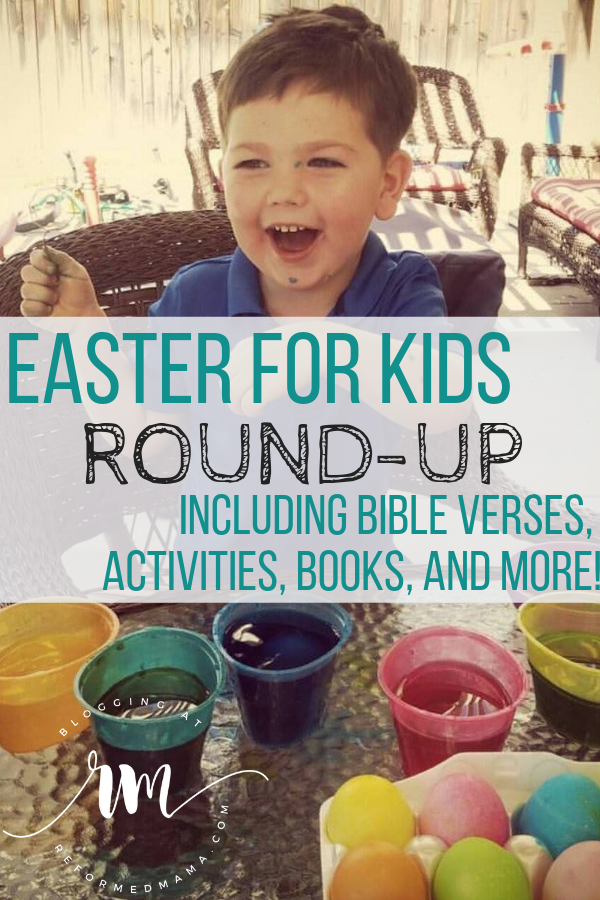 Easter Resource Round-Up For Kids! Great list of resources like books, Bible verses, even a recipe for Empty Tomb Rolls (or Ressurection Rolls)!