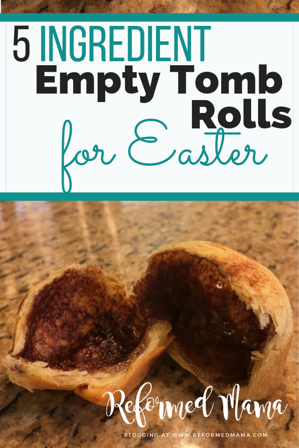 Make these Easy Empty Tomb Rolls for Easter! Also includes a great tip for SUPER easy clean-up (after I learned the hard way)!