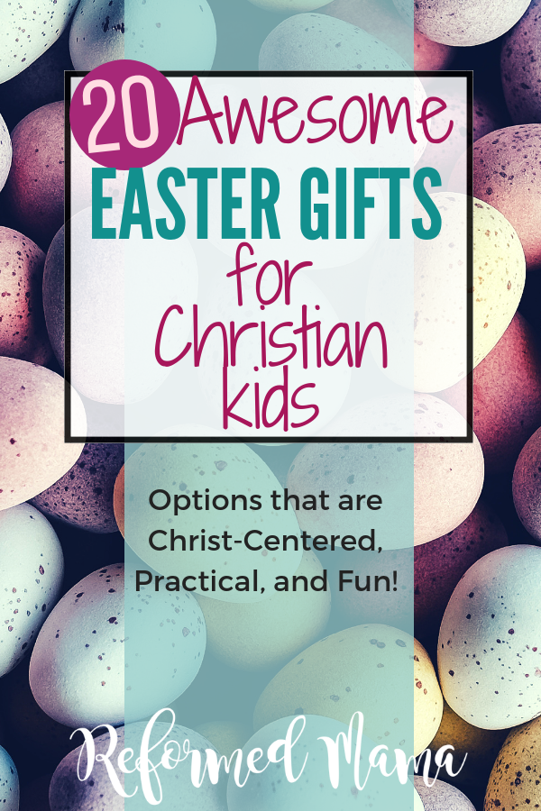 This is an awesome list of Christ-centered books and music plus some really practical tips for making Easter baskets! You don't have to buy cheap toys you'll hate!