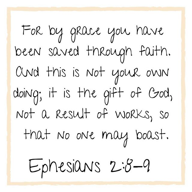 Our church's VBS is this week and this is our theme verse! We are on day two of five and I'm sharing more pictures in my stories. 😉Thanks @newgrowthpress for the PROOF pirates curriculum so focused on grace! 💚💙