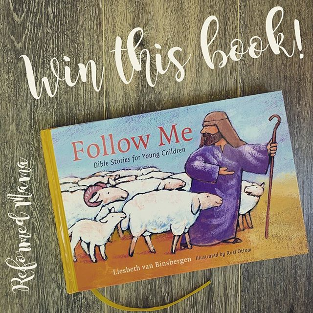 """🎉🎉🎉G I V E A W A Y 🎉🎉🎉 ⠀⠀⠀⠀⠀⠀⠀⠀⠀ I'm sharing an awesome new Bible Storybook today on the blog! It has 116 stores - each with illustrations and conversation questions for your kids. And… even with all those New Testament stories, there are no images of Jesus.   Huge thanks to @reformationheritagebooks for providing this copy to me so I can send it to one of you! ⠀⠀⠀⠀⠀⠀⠀⠀⠀⠀⠀⠀⠀ Go to my profile for the link to the blog post with TONS of information about this great book and the giveaway. (Look for """"Follow Me Bible Storybook"""") ⠀⠀⠀⠀⠀⠀⠀⠀⠀ TO ENTER: 📚Follow Reformed Mama on Instagram (@reformed_mama) 📚Like this post 📚Tag a friend in the comments right here! (each comment counts as one entry so tag away, but separate comments!) (You can also head over to Facebook to get a few more entries!) ⠀⠀⠀⠀⠀⠀⠀⠀⠀ 🚨 You must complete ALL of the requirements to win. This giveaway is only open to those in the Continental United States. 🇺🇸 Sorry to my International friends! 🇨🇦 🇦🇺  ⠀⠀⠀⠀⠀⠀⠀⠀⠀ ⏲ Giveaway ends on September 23rd at 11PM Pacific; winner will be direct messaged and announced on this post! ⠀⠀⠀⠀⠀⠀⠀⠀⠀ Promotion is in no way sponsored, endorsed or administered by, or associated with Instagram, Inc. By entering, entrants confirm they are 13+ years of age, release Instagram of responsibility, and agree to Instagram's term of use."""