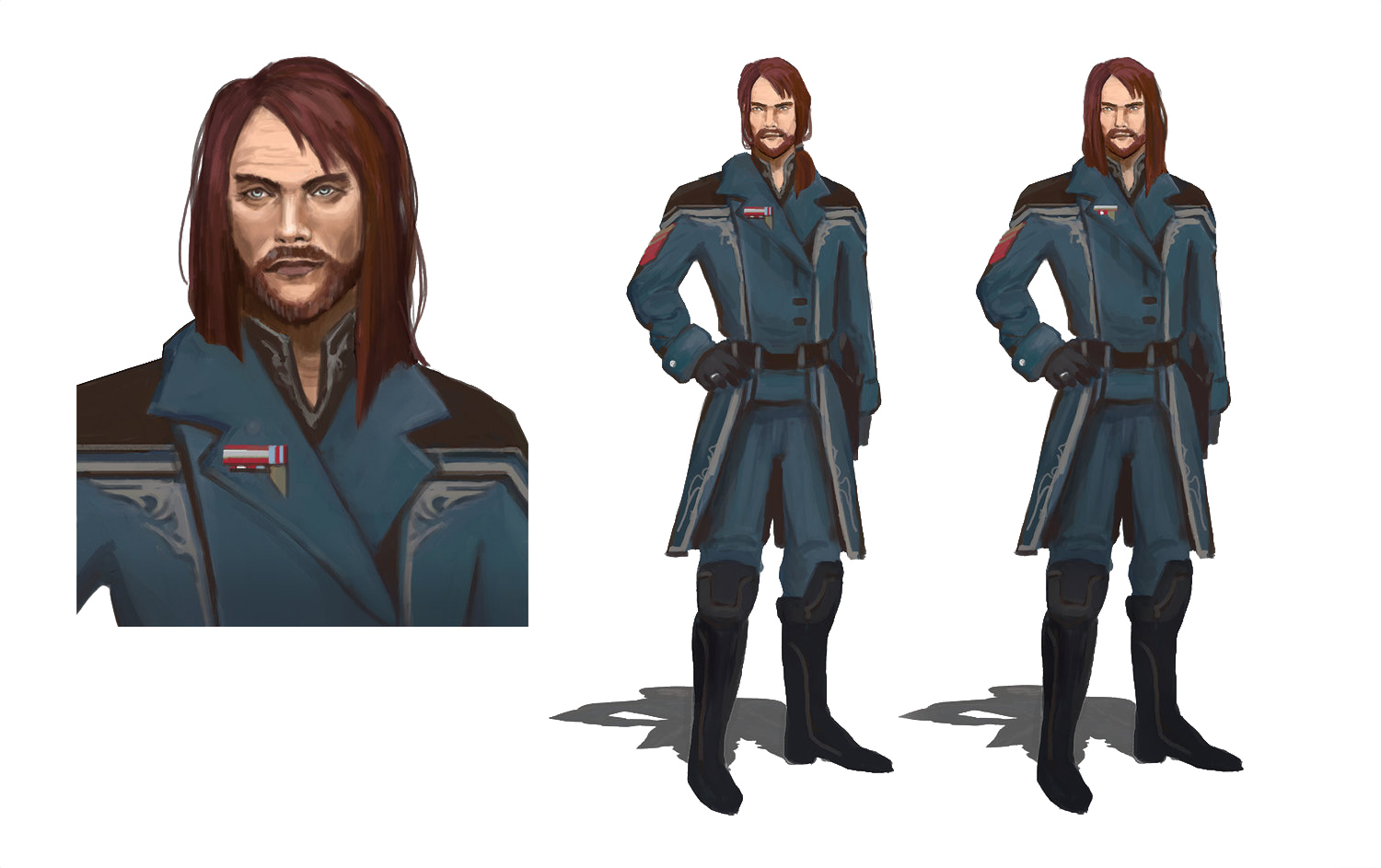 Concept for Commodore Ostegaard of BATTLETECH.