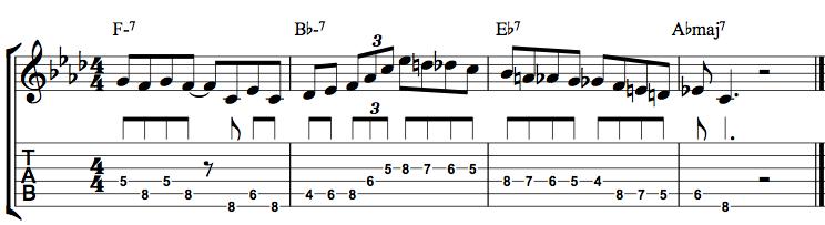 Jazz Guitar Lick