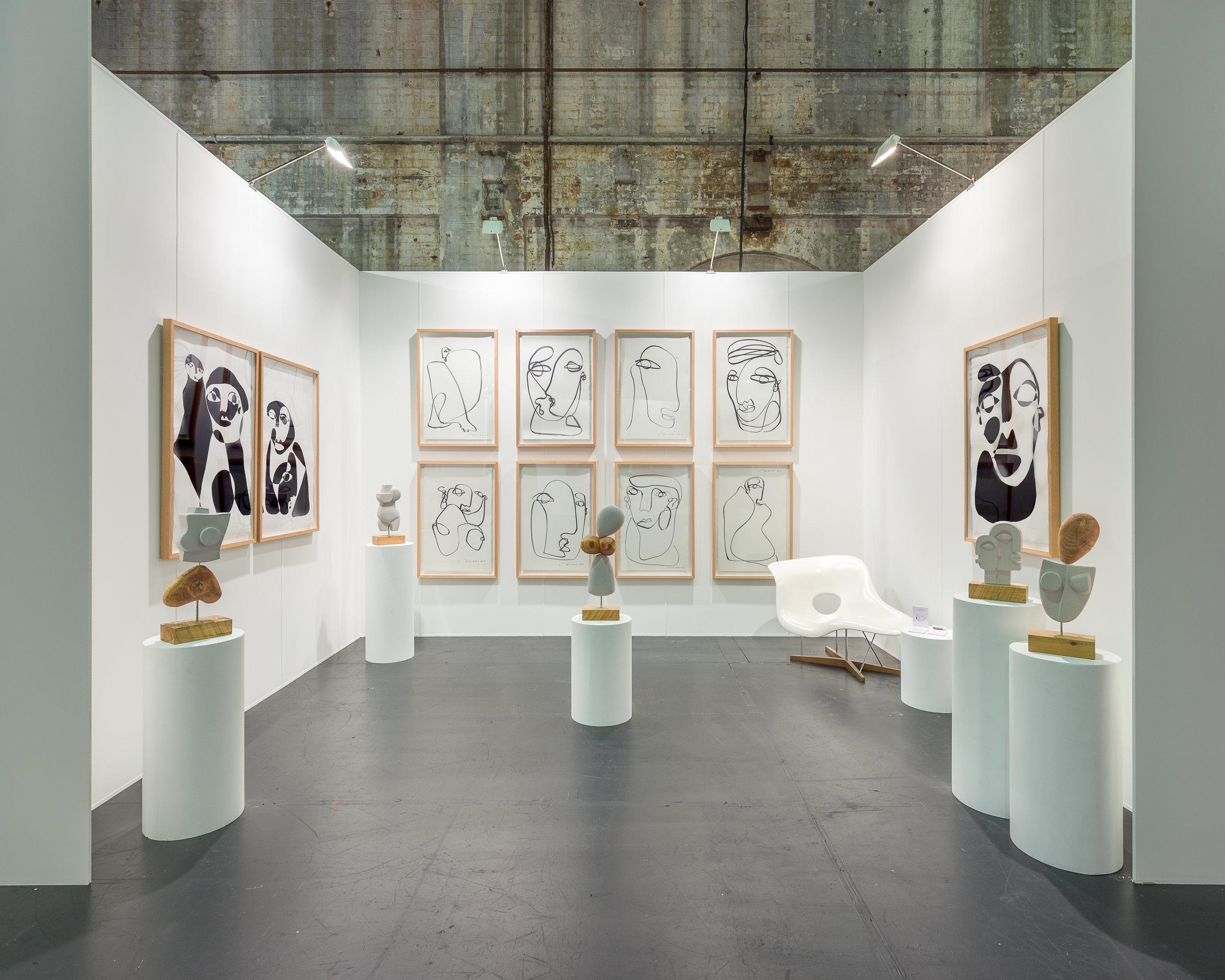 ART FAIR - 13TH SEPTEMBER - 16TH SEPTEMBER 2018SYDNEY CONTEMPORARY ART FAIR Artists: Christiane Spangsberg & Holly Ryan