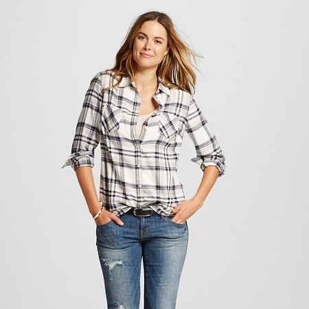 Merona Plaid Favorite Shirt, $22.99