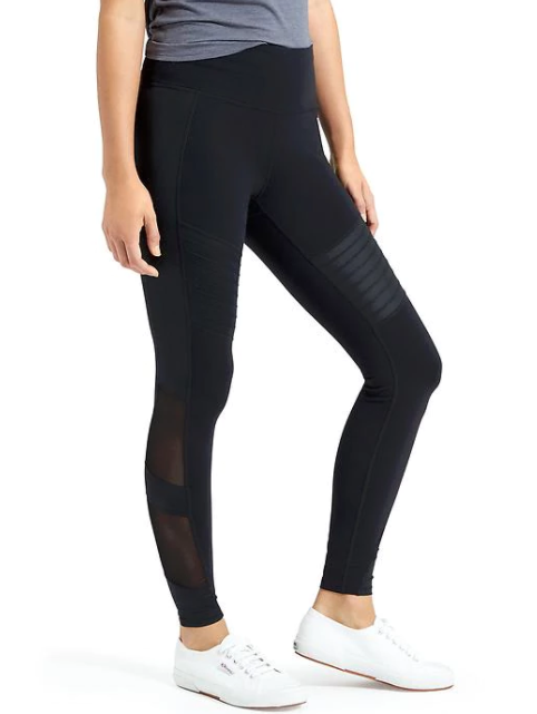 Athleta High Rise Powerful Gleam Tight, $89
