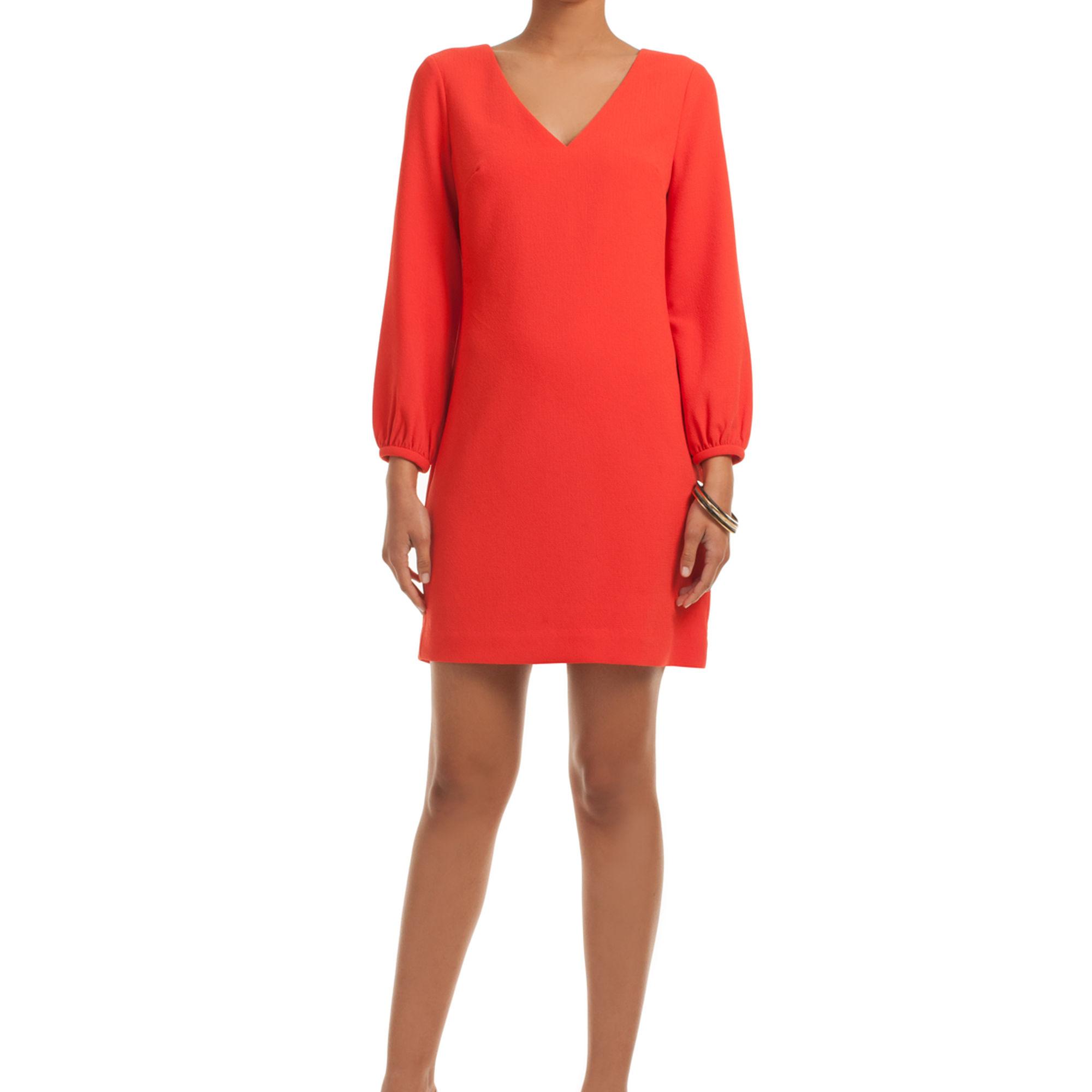 "<a href=""https://www.trinaturk.com/belleza-dress/TD171003.html"">Trina Turk Belleza Dress</a>, $258"