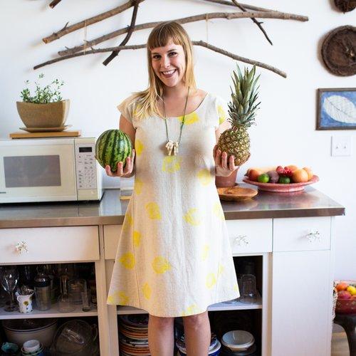 Jenny's Lemon Dress, $140