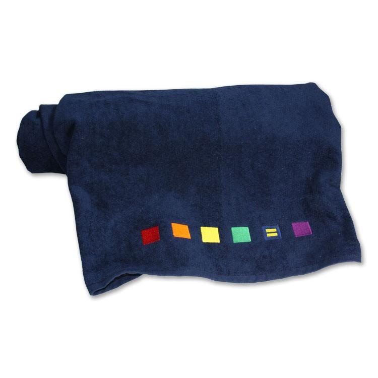 <h2>Rainbow Beach Towel, $35</h2>
