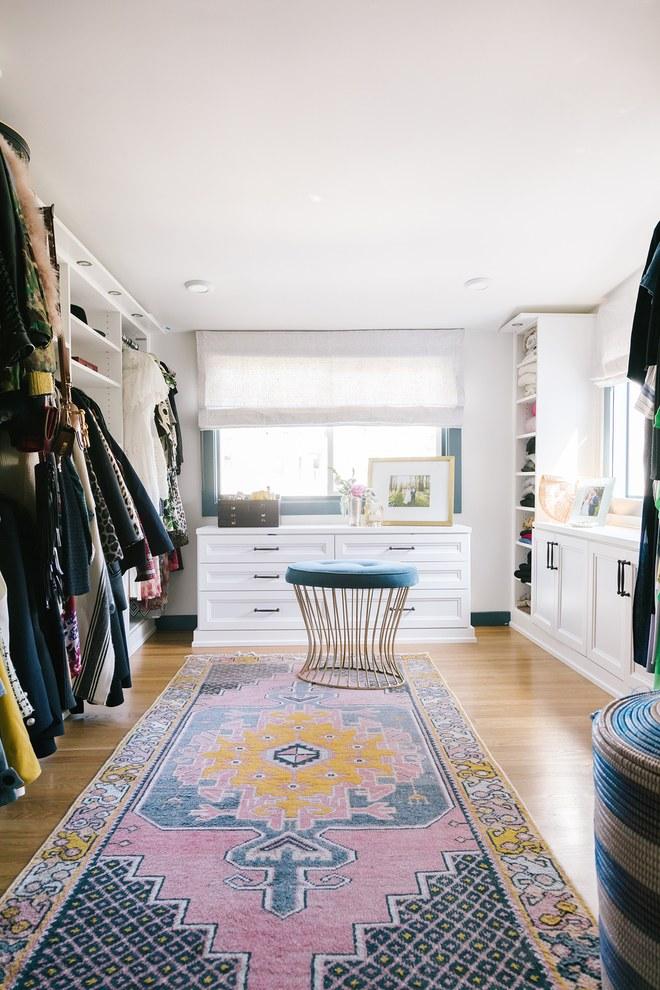 Emily Wheeler's closet. Photo:  Jen Kay  via Vogue