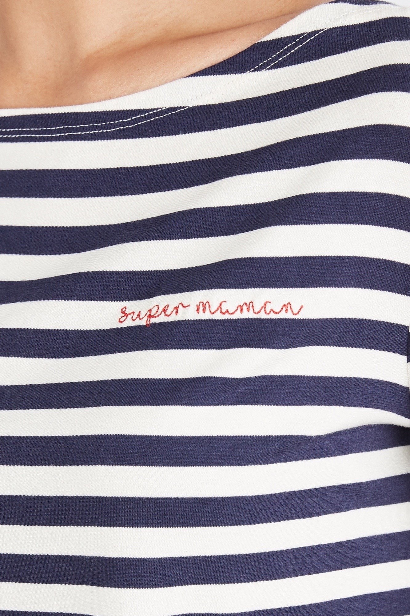Amour Vert Tee, $78 - Amour Vert's Super Maman (French for Super Mom) tee is a très chic (and eco-friendly!) addition to any mama's wardrobe. The navy and white striped, long-sleeved style is made in the US from an organic cotton and modal blend, and it's impossibly soft.