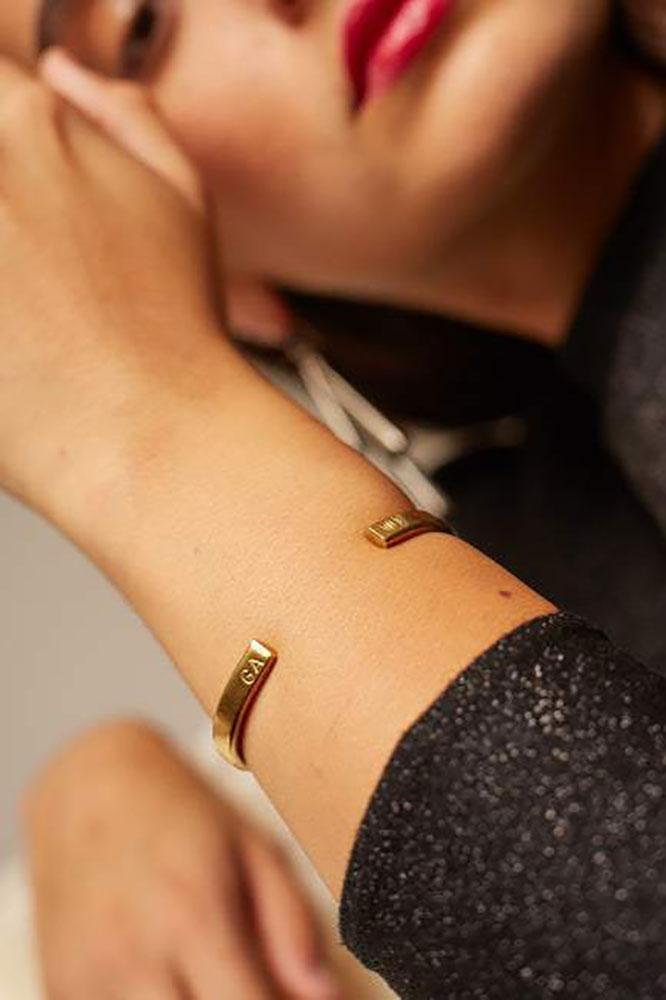 Soko Custom Cuff, $55 - Soko taps a global network of artisans for its sustainable jewelry designs. Personalized items require 7-10 business days' lead time, so choose your shipping rate accordingly. Bracelets not her thing? Soko makes gorgeous earrings and necklaces, too.