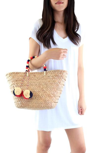 Kayu Tote, $135 - An adorable summer bag to keep your mom looking stylish on a summer beach getaway. (Psst... you can also customize it with her initials.) No one would blame you if you bought one for yourself to twin with your mom.